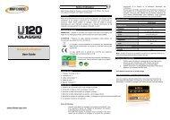Manuel d'utilisation User Guide - Infosec