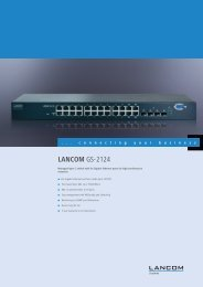 LANCOM GS-2124 - LANCOM Systems