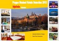 Prague (Brochure) Student Hotels Selection 2012.pub