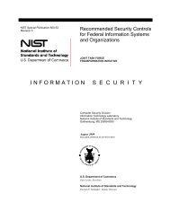 Mapping between NIST 800-53 and ISO/IEC 27001 - SCADAhacker