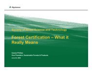 Forest Certification – What it Really Means - Society of Wood ...