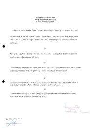Uchwała Nr 58/VI/2011 Rady Miejskiej w Serocku z dnia 30 marca ...