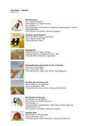 Liste R-Z inkl. Titelbilder - Bibliomedia Schweiz