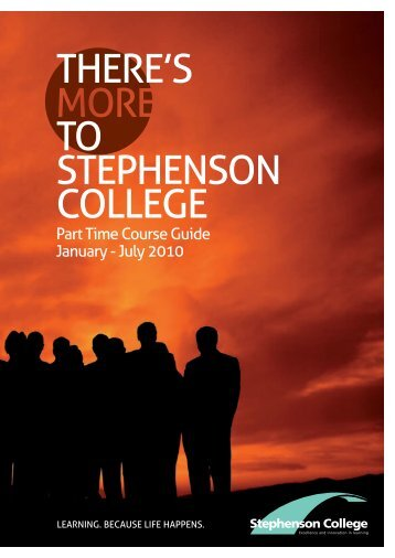 THERE'S TO STEPHENSON COLLEGE