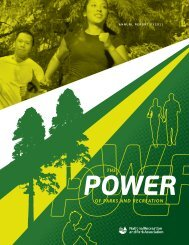 AnnuAl RepoRt FY2011 - National Recreation and Park Association