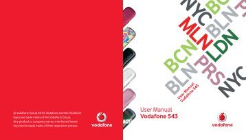 User Guide (4.78MB PDF) - Vodafone