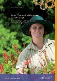 Adult Community Education - Toward Q2 - Training Queensland ...