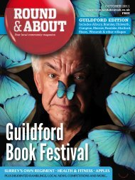 guildford book festival - Round & About Magazine