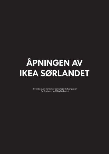 ÅPNINGEN AV IKEA SØRLANDET - Gullblyanten