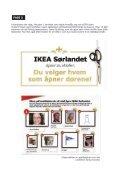 ÅPNINGEN AV IKEA SØRLANDET - Gullblyanten - Page 7