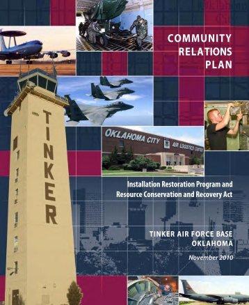 COMMUNITY RELATIONS PLAN - Tinker AFB