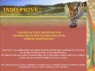 Klik hier voor 46e editie april 2012 - Indo Privé