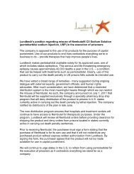 (pentobarbital sodium injection, USP) in the executio - Lundbeck