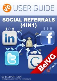 Social Referrals 4 in 1 User Guide - BelVG Magento Extensions Store