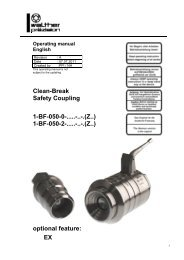 Clean break coupling, type BF-050, Rev-B - Carl Kurt Walther GmbH ...