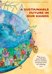 A SUSTAINABLE FUTURE IN OUR HANDS - To Parent Directory