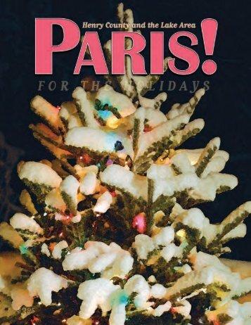 Holidays 2008 - Paris! Magazine/MyParisMagazine.com