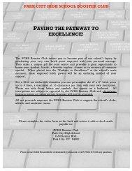 12b) Brick Paver Order Form - Park City High School