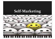 Self-‐Marketing - Scienze della Formazione