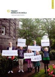 ágúst 2013 - Heimili og skóli