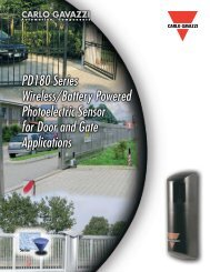 PD180 Series Wireless/Battery Powered Photoelectric ... - Imimg