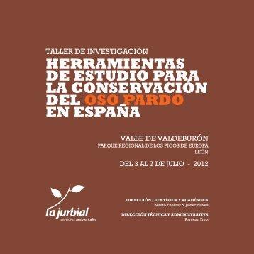 herramientas de estudio para la conservación del oso pardo en ...