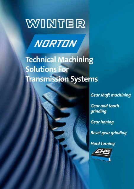 Technical Machining Solutions For Transmission Systems