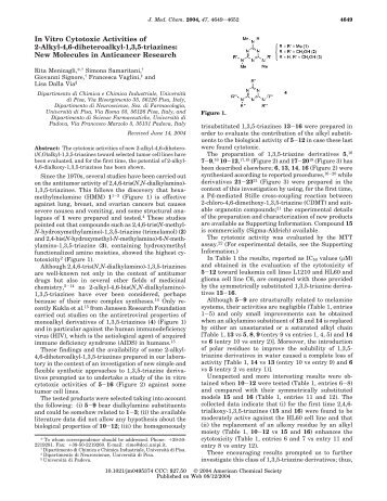 In Vitro Cytotoxic Activities of 2-Alkyl-4,6 ... - ResearchGate