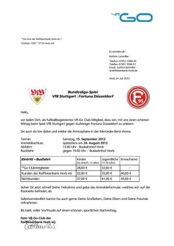 Bundesliga-Spiel VfB Stuttgart : Fortuna Düsseldorf