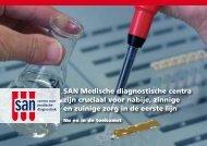SAN Medische diagnostische centra zijn cruciaal ... - Rijksoverheid.nl
