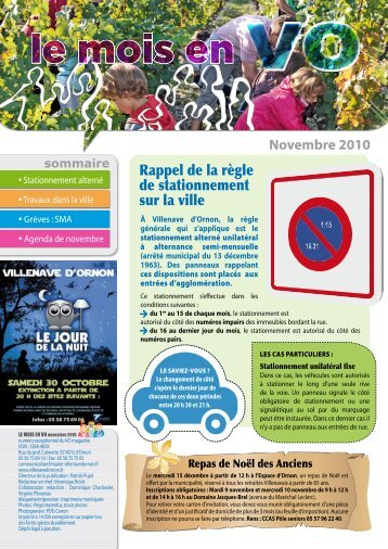 nouvelle publication - Villenave d'Ornon