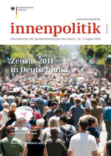 innenpolitik Nr. 4 / August 2010 - des Bundesministerium des Innern