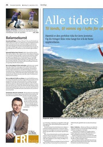 Les hele artikkelen fra Romsdals Budstikke her. - Visit Molde
