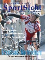 Sportsicht Vorlage - Grenzland-Nachrichten