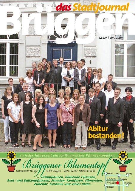 Brüggener Blumentopf - Stadtjournal Brüggen