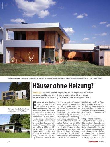 012007_reno_10-12_passiv_Häuser ohne ... - Lang Consulting