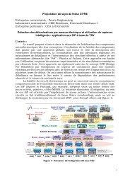 Proposition de sujet de thèse CIFRE Entreprise contractante ... - ANRT