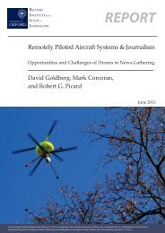 Remotely Piloted Aircraft Systems and Journalism - Reuters Institute ...