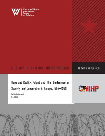 Hope and Reality: Poland and the Conference on Security and ...