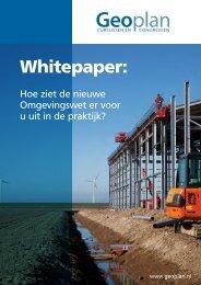 whitepaper omgevingswet