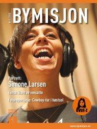 Simone Larsen - Kirkens Bymisjon