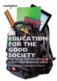 EDUCATION FOR THE GOOD SOCIETY - Support