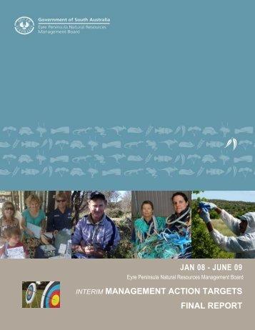IMAT report - Eyre Peninsula Natural Resources Management ...