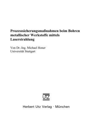 1 Einleitung - Herbert Utz Verlag GmbH