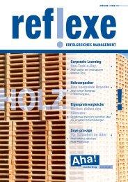 Reflexe März 2008_2 - Aha!