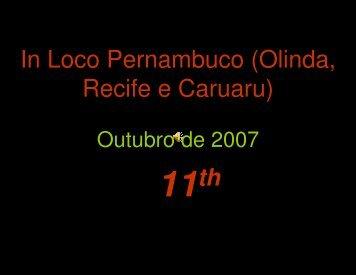 In Loco Pernambuco (Olinda, Recife e Caruaru) - Graded