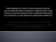 Performance et exactitude diagnostiques de l'élastométrie ... - Afef