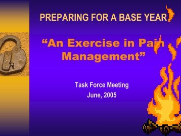 Preparing for a Base Year (PDF) - UCDavis Accounting & Financial ...