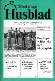 1982-2 - Snättringe fastighetsägareförening