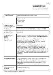 rekisteriseloste - CIMO Kansainvälisen liikkuvuuden ja yhteistyön ...